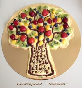 torta albero